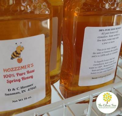 Local Raw Honey in Cincinnati