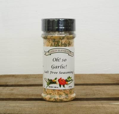 Salt Free Garlic Seasoning
