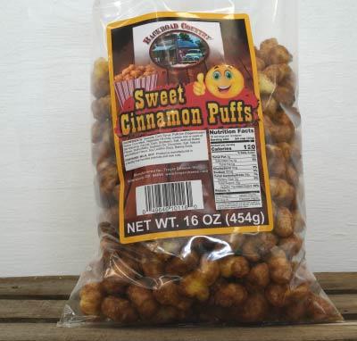 Cinnomon Puffcorn