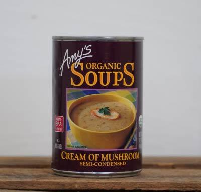 Amy's Cream of Mushroom