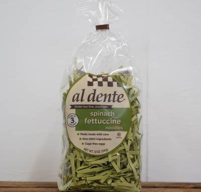 al dente Spinach Fettuccine