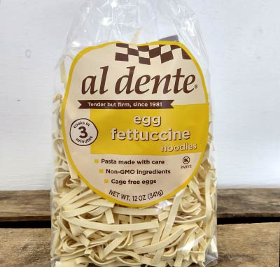 Egg Fettuccine-al dente